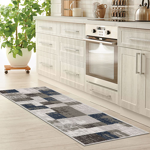 Achim Capri 3 Piece Geometric Rug Set