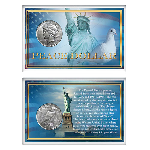 The Matthew Mint Peace Dollar
