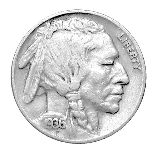 The Mathew Mint Bag of Buffalo Nickels