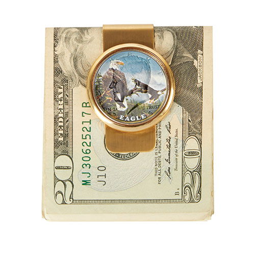 The Mathew Mint JFK Eagle Money Clip