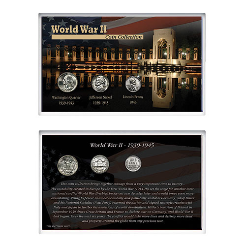 Matthew Mint WWII Coin Collection
