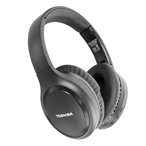Toshiba RZE-BT-1200 Bluetooth/Noise Cancel Headphones - Black
