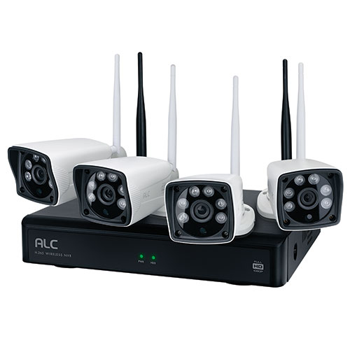 ALC Wirelss 1080p 4-Camera NVR System
