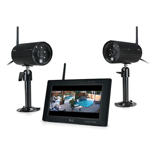 ALC Full HD Surveillance System with 7 inch Monitor