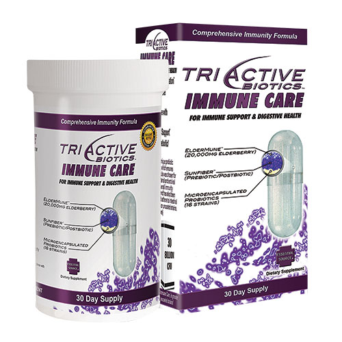 Essential Source TriActive Biotics Immune Care Capsules