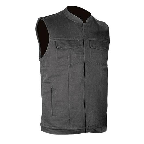 Vance Leathers Men's Denim Club Vest