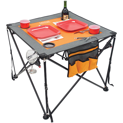 Creative Outdoors Folding Wine Table
