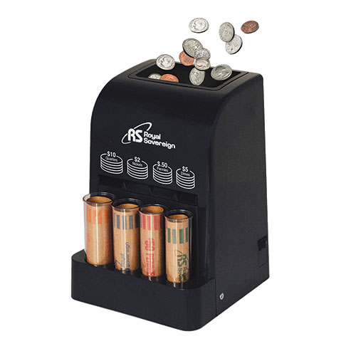 Royal Sovereign Battery Powered Coin Sorter