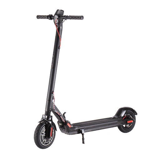 GlareWheel Pro S10 Black Folding Electric Scooter