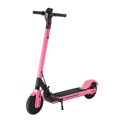 GlareWheel S10 Pro Folding Electric Scooter - Pink