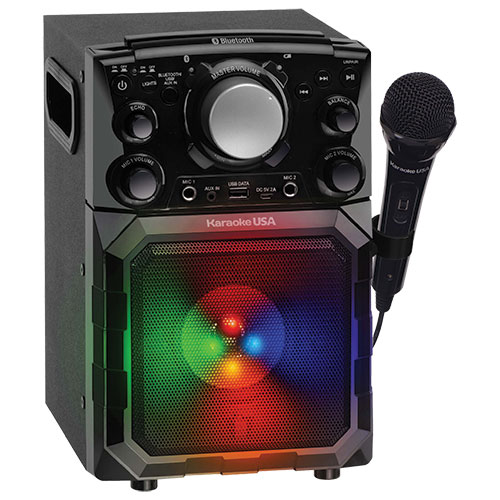 Portable 5-in-1 Entertainment and Karaoke System