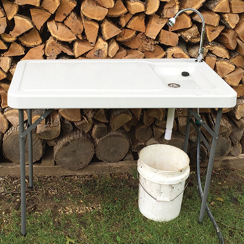 Sportsman All Purpose Folding Table