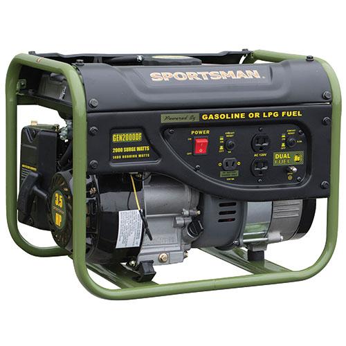 Sportsman 2000W Dual Fuel Generator