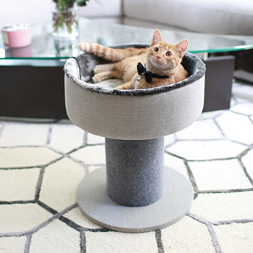 Cat Craft Elegant Cat Bed & Scraping Post