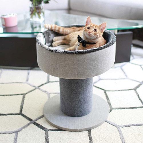 Cat Craft Elegant Cat Bed & Scraping Post