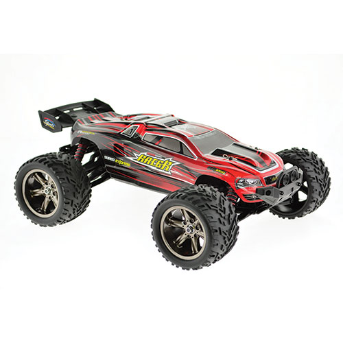 CIS 2WD Red Remote Control Truggy - 1:12 Scale
