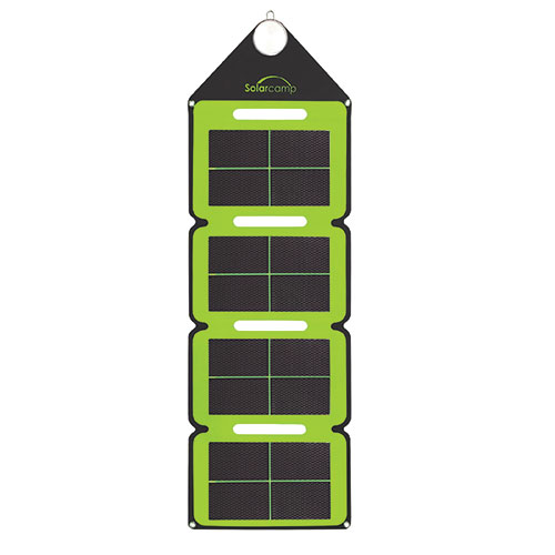 Solar Camp Solar Charger - Green