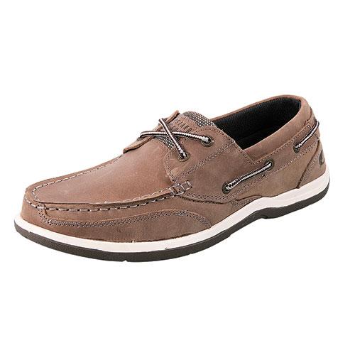 Island Surf Men's Gray Classic Boat Shoe