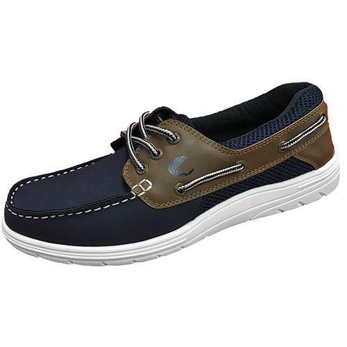 Island Surf Men's Navy & Brown Sail-Lite Shoes