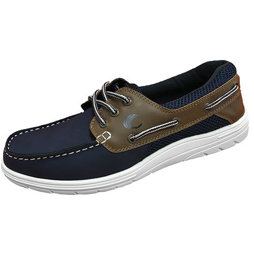 Island Surf Men's Navy & Brown Sail-Lite Shoes
