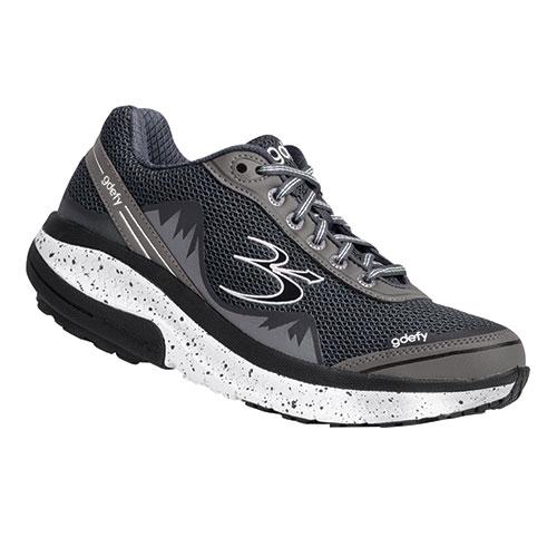 Gravity Defyer Men's Grey Mighty Walking Shoes