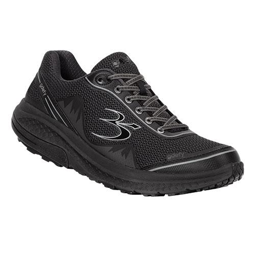 Gravity Defyer Men's Black Mighty Walking Shoes