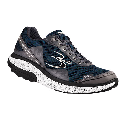 Gravity Defyer Men's Blue Mighty Walking Shoes