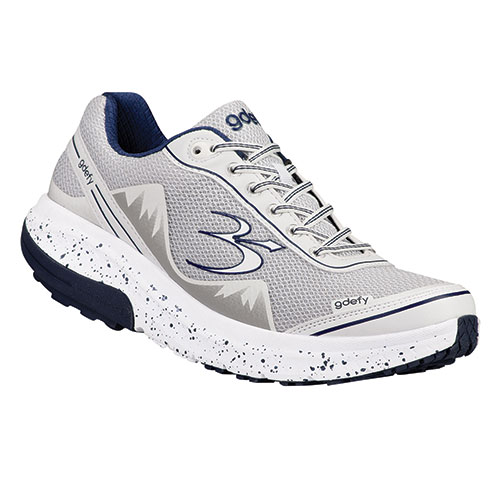Gravity Defyer Men's White Mighty Walking Shoes