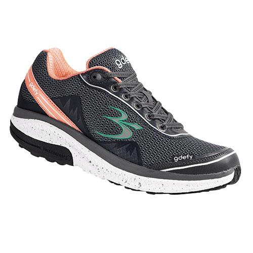 Gravity Defyer Women's Pink & Grey Mighty Walking Shoes
