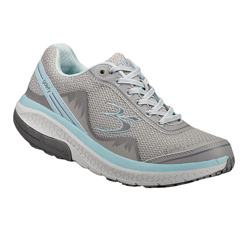 Gravity Defyer Women's Silver & Blue Mighty Walking Shoes