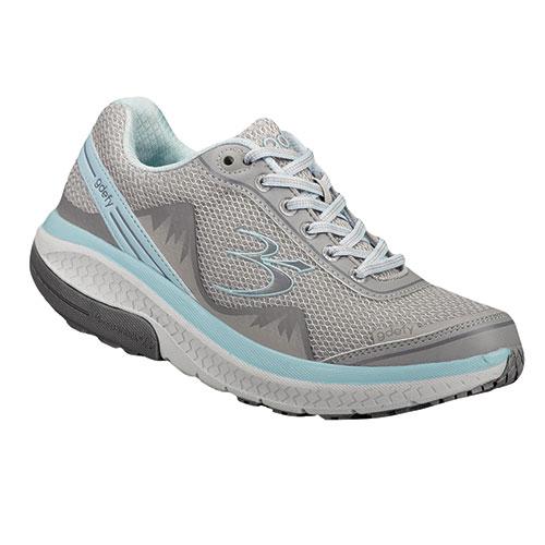 Gravity Defyer Women's Silver & Blue Mighty Walking Shoes