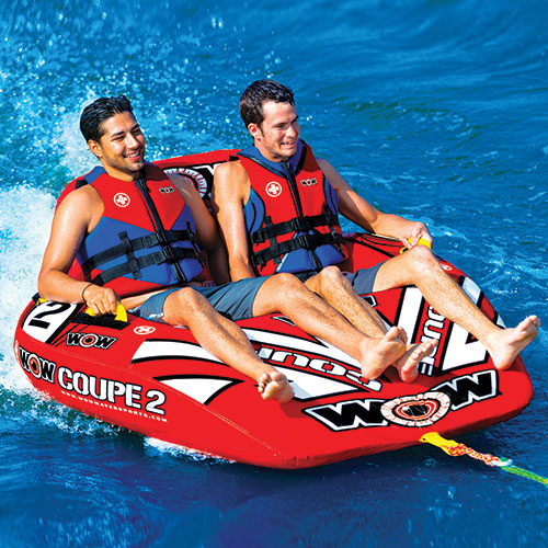 WOW Watersports 2- Person Coupe Cockpit Towable Tube