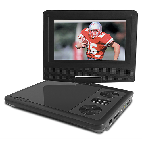 Audiobox Portable 9 inch DVD Player TV Combo