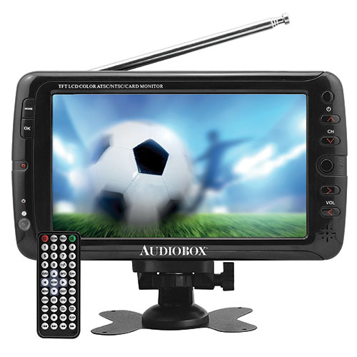 Audiobox 7 inch Portable TV