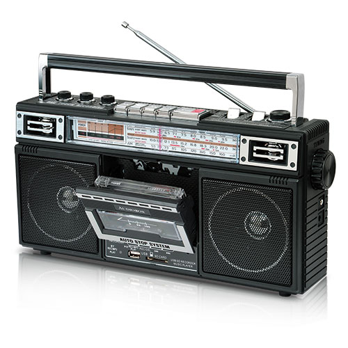 Audiobox Portable Radio/Cassette Player/Recorder