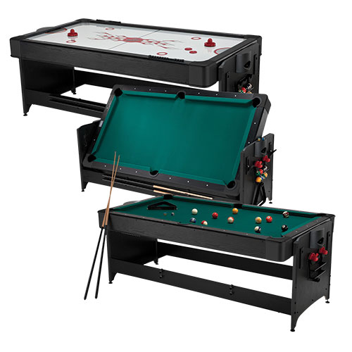 Fat Cat Original 2-in-1 7 foot Pockey Multi-Game Table