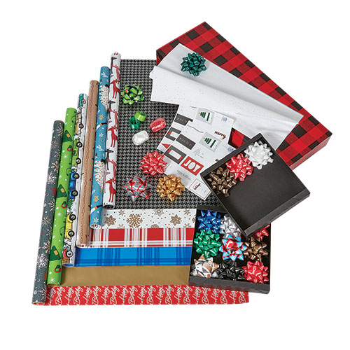 Deluxe All-in-One Gift Wrapping Kit