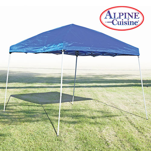Blue Gazebo Pop-Up Tent