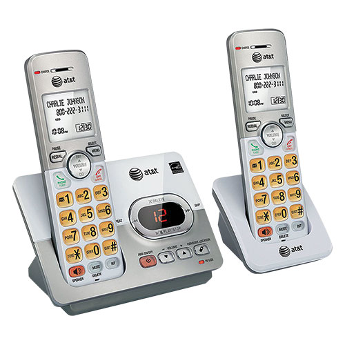 AT&T 2 Handset System with Answering Machine