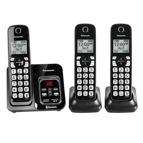 Panasonic KX-TG273C Cordless 3 Handset System