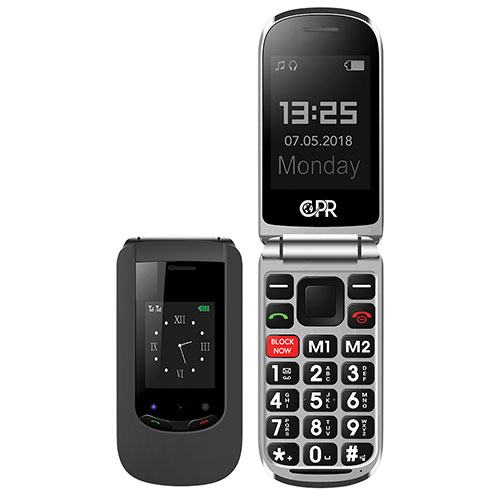 CPR CS900 Big Button Cell Phone with Block Now