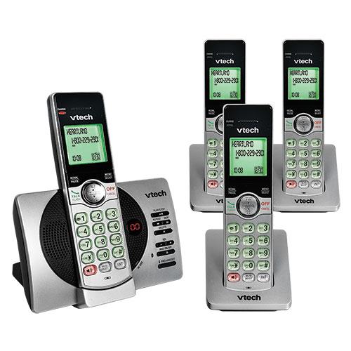 V-Tech Cordless 4- Handset Cordless Phone System