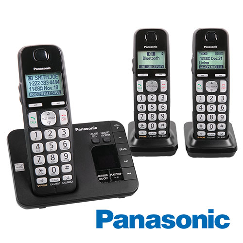 Panasonic KX-TGE433B Big Button Phone System