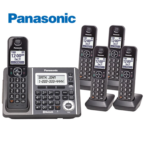 Panasonic KX-TG585SK Social Media Cordless Phone System