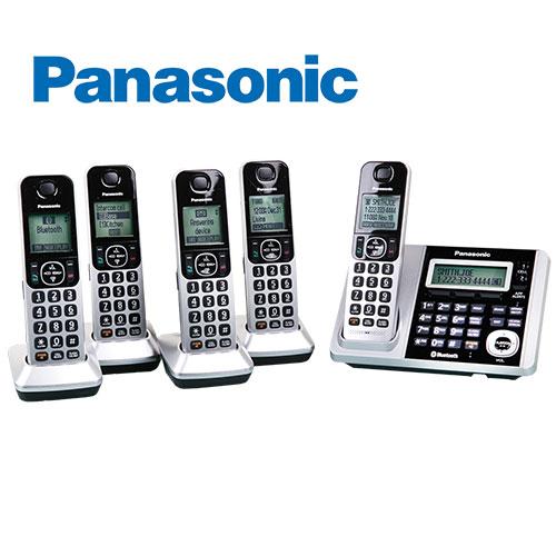 Panasonic KX-TG375S Bluetooth 5-Handset System