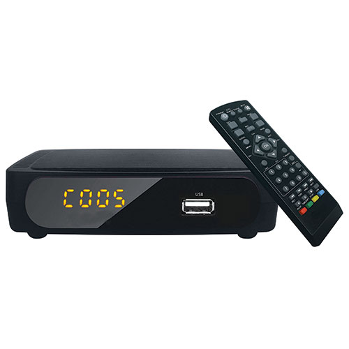 Coby TV Digital Converter with Remote