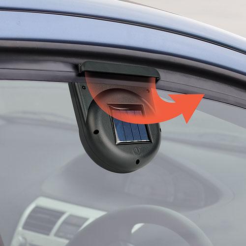 2-Pack Solar Auto Fan/Vent