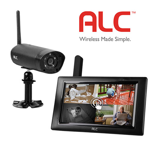 ALC Security Camera with 7 Inch Monitor