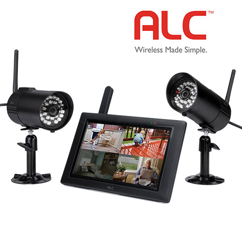 ALC 2 Camera Monitor Security System
