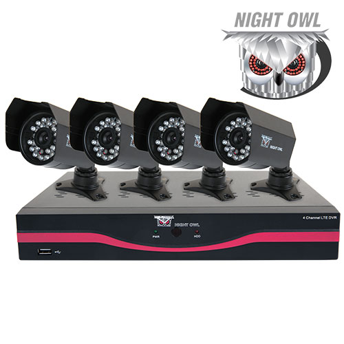 Night Owl 4 Channel DVR Security System